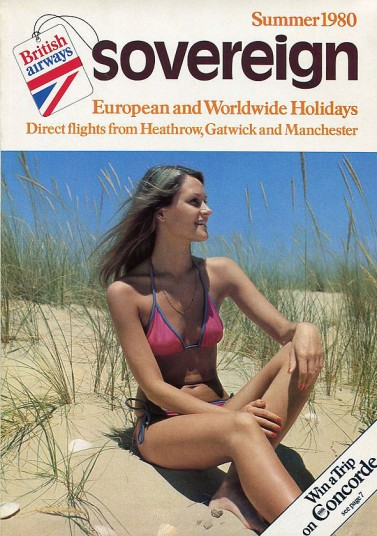 A typical 1980s travel brochure