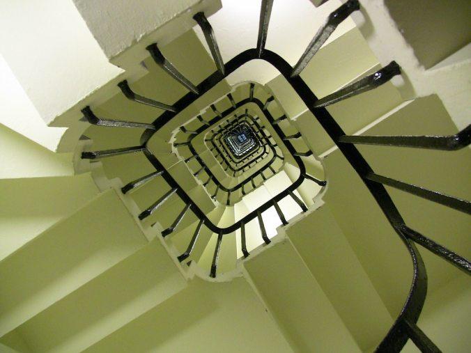 Big Ben Staircase