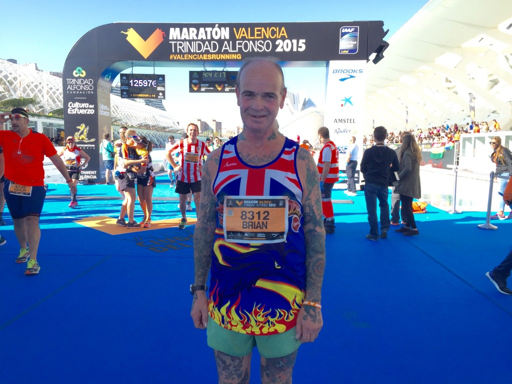UK's Brian Mills has run 1,250 marathons