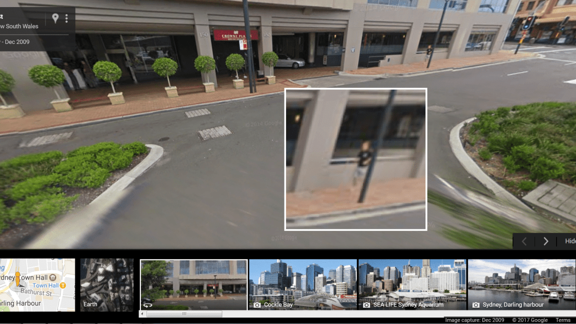discovering yourself on google street view biggsy travels