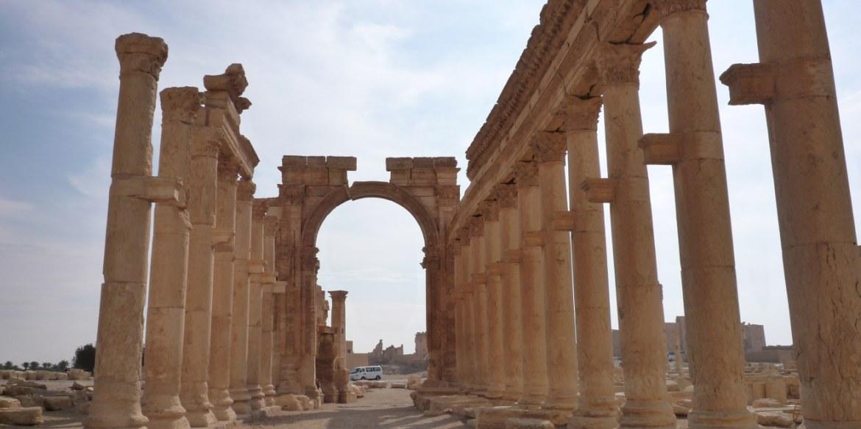 The Arch of Triumph in Syria