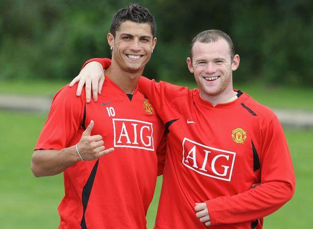 Cristiano Ronaldo and Wayne Rooney - not that I blame them!