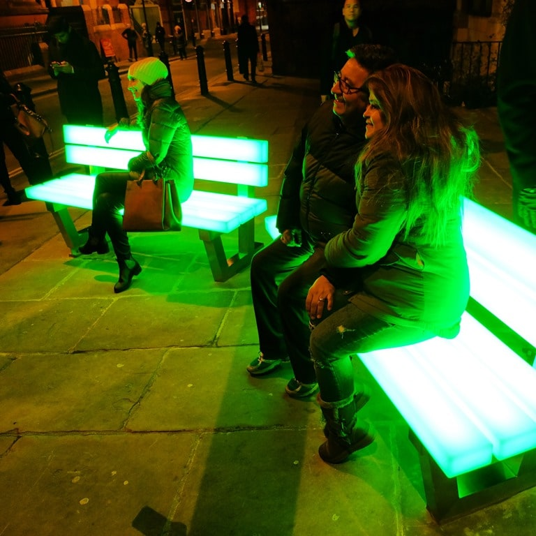 Lumiere London Brown Hart Gardens - Lightbench