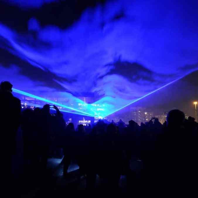 Lumiere London King's Cross - Waterlicht