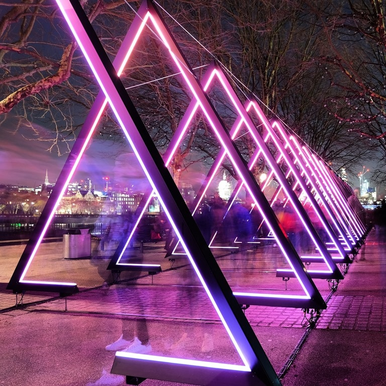 Lumiere London Southbank - The Wave