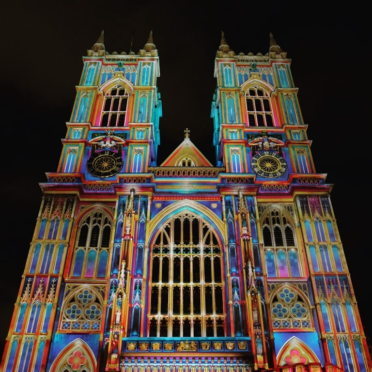 Lumiere London Westminster Abbey -The Light of The Spirit