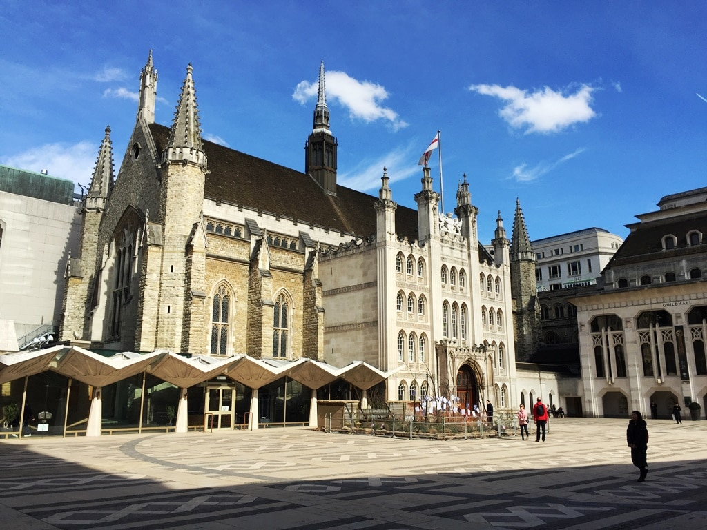 Guildhall in the City of London