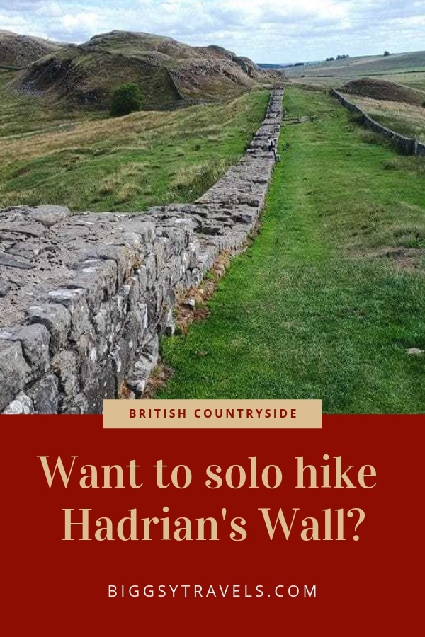 Want to solo hike Hadrian's Wall?
