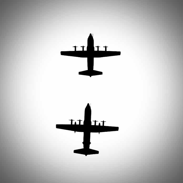 My ThreeGallery submission of the RAF100 flypast along The Mall