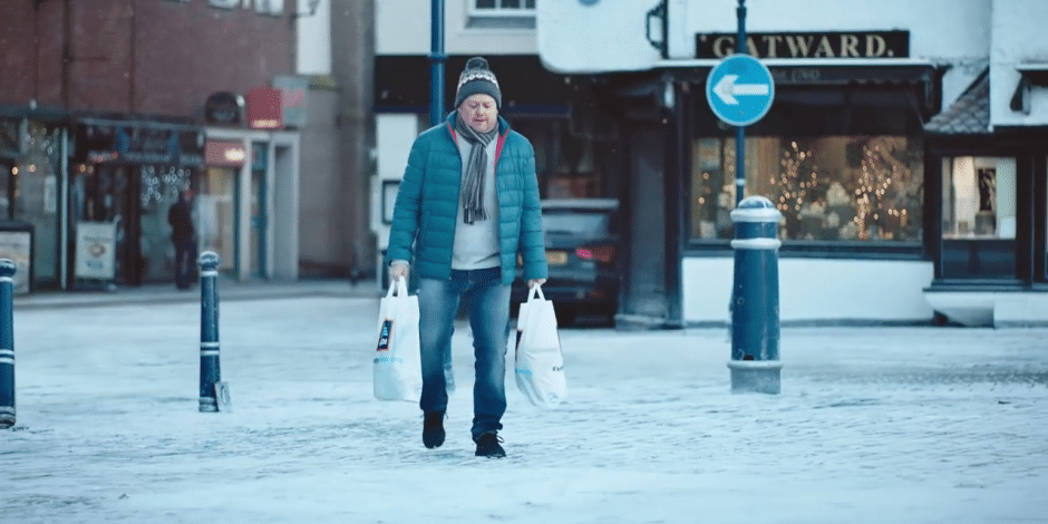 The Winter Olympics Aldi advert filmed in the Market Square
