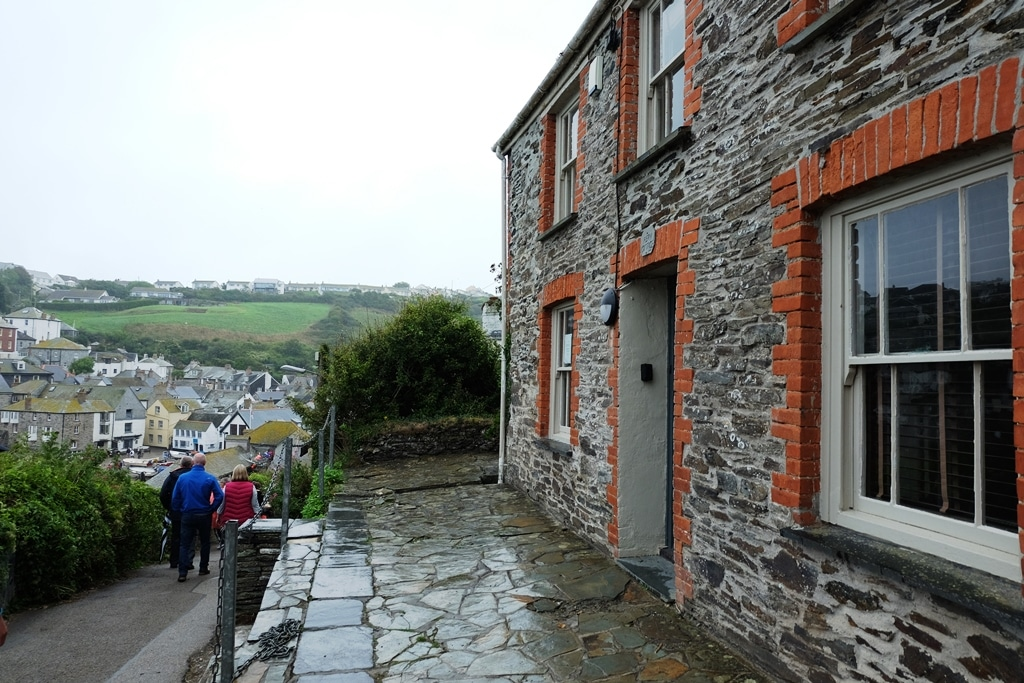 Doc Martin's House in TV show ... Doc Martin