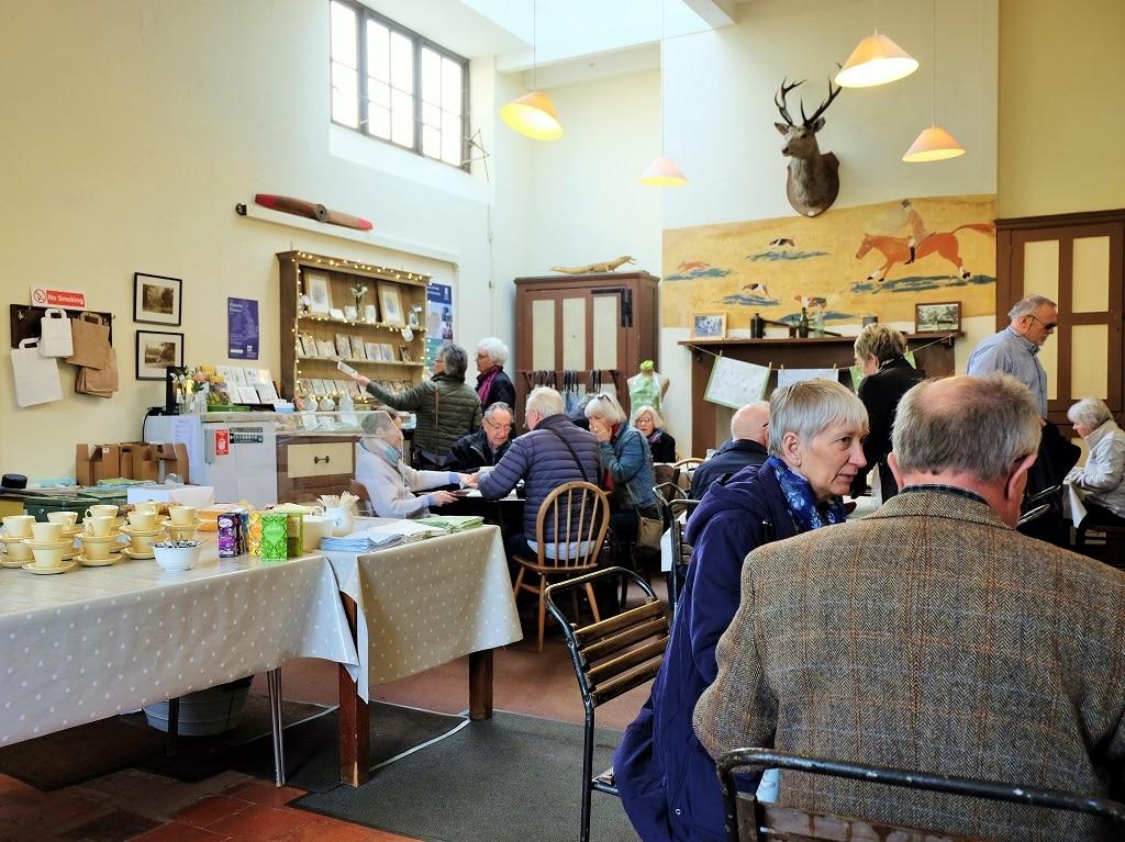 Benington Lordship Gardens tea room