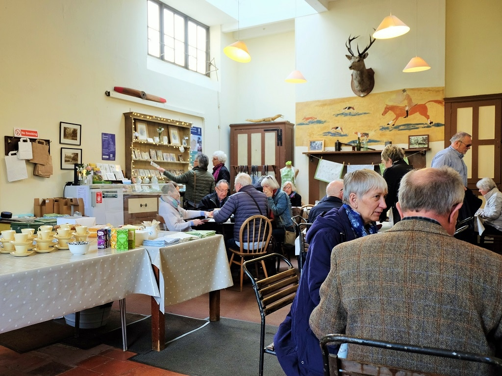 Benington Lordship Gardens tea room