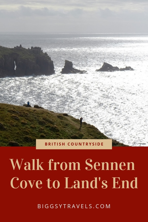 The view along the 1 mile walk to Land's End