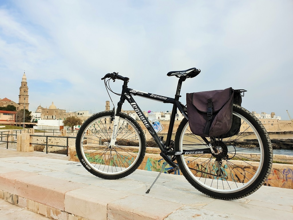 A bike tour among the olive trees of Monopoli Italy