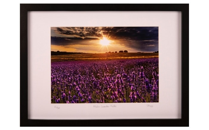How to frame a print for your first ever sale