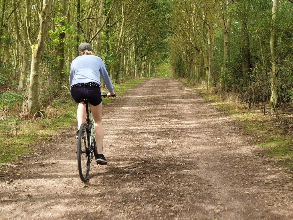 Grafham Water's wide open bike trails