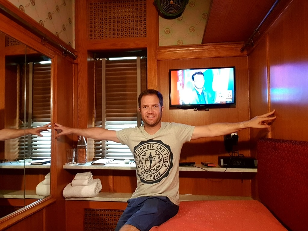 The Jane Hotel cabin rooms are arm width wide