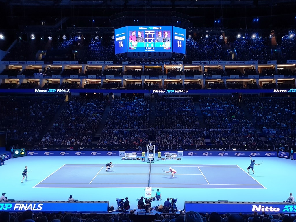 Attending the ATP tennis finals 2019
