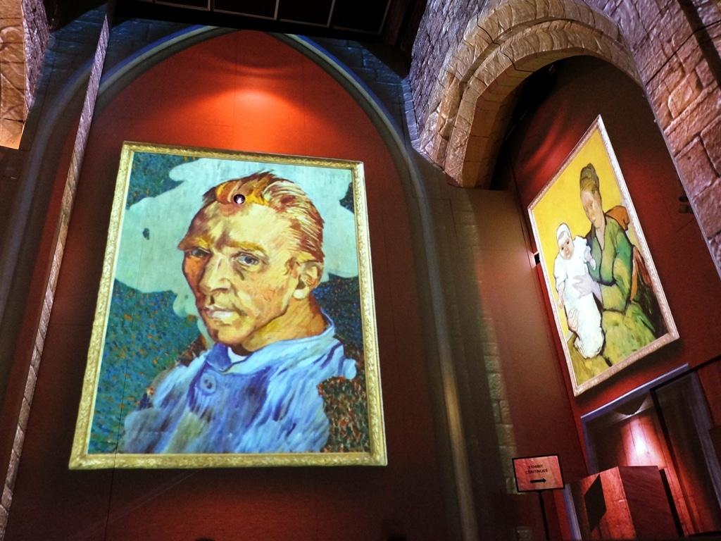 Van Gogh self portrait without a beard