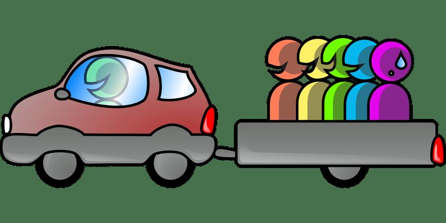 Ride sharing, carpooling