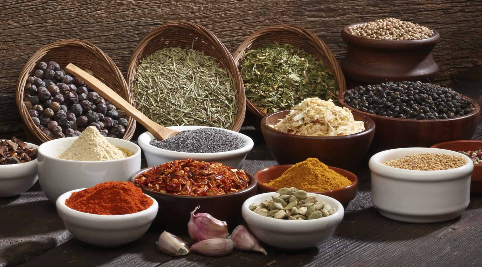Alchemy uses many of these spices