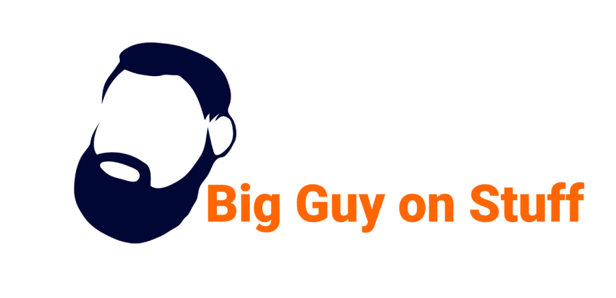 Big Guy on Stuff Beard Logo