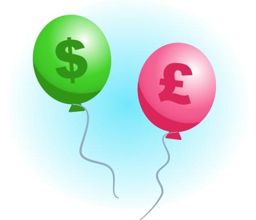Money balloon expands!