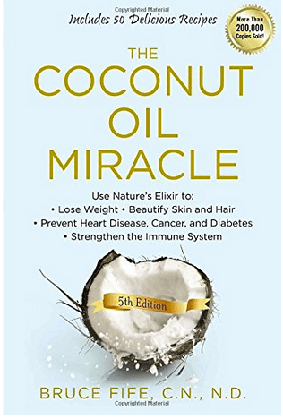 coconut oil, books on coconut oil, coconut oil miracle, recipes with coconut oil
