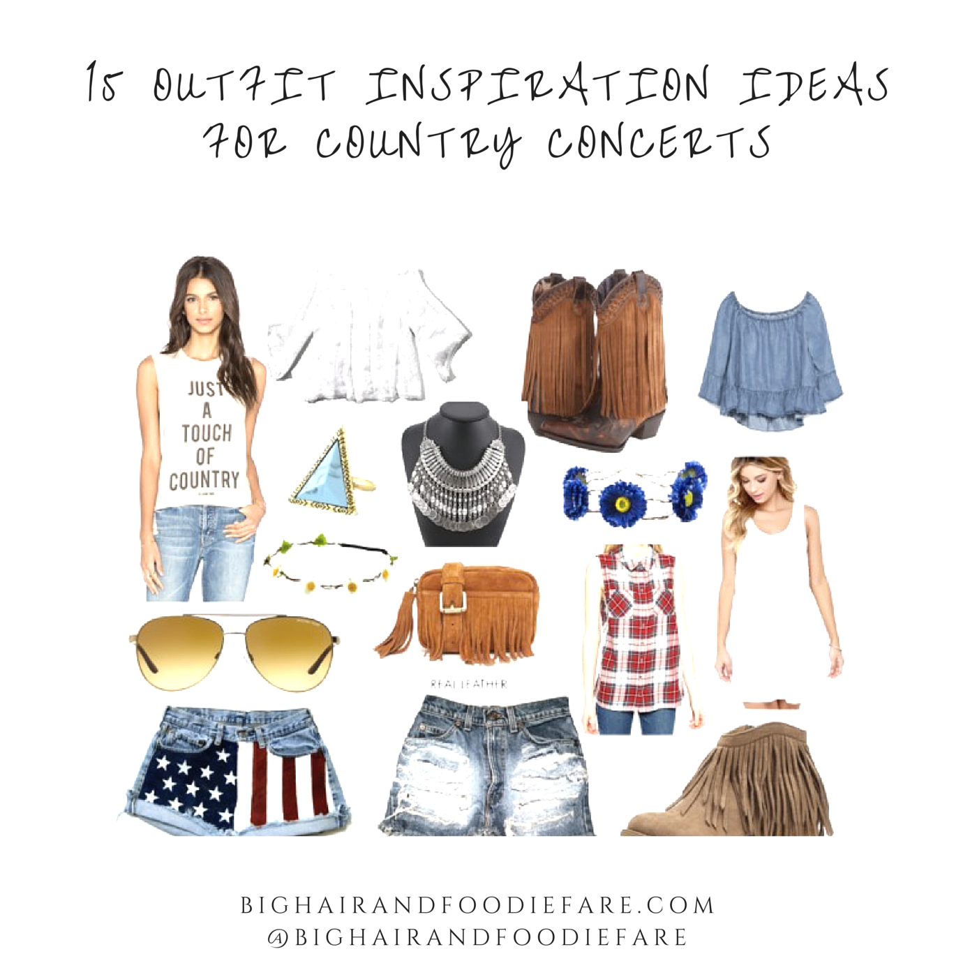 What To Wear To A Country Concert: Plus 15 Items That Will