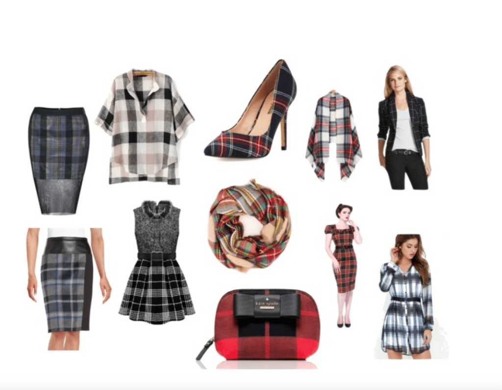 10 Pretty Plaid Pieces to Keep you classic in the office.