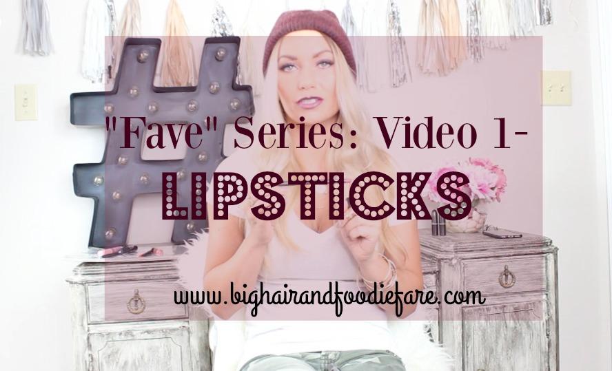 Favorite makeup , Blogger series: Week 1- Lipsticks