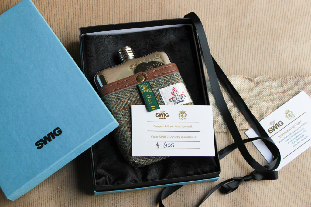 Last minute holiday gift guide for him: Swig Hip Flask