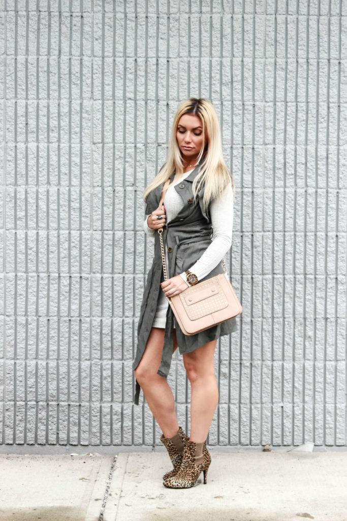 How to style a trench vest