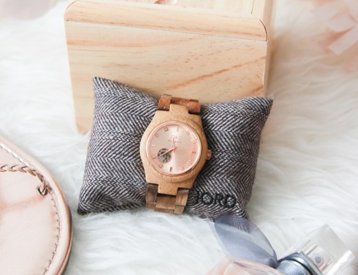 Jord Watch, Rose and Koa. How gorgeous is this?