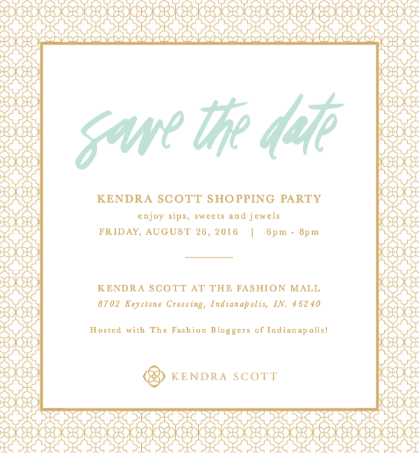 Kendra Scott Invitation