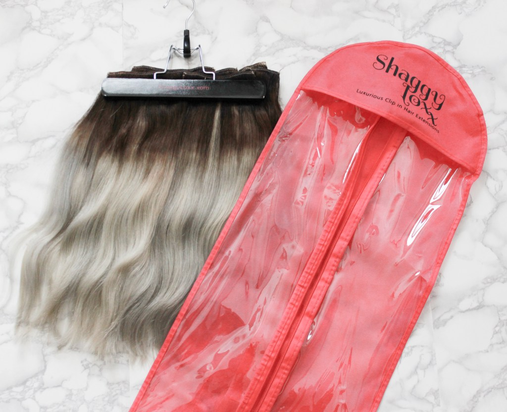 Custom Colored Shaggy Lox Clip-In Extensions