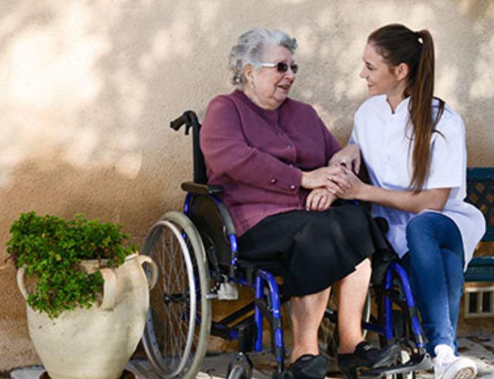 wheelchair for elderly parent