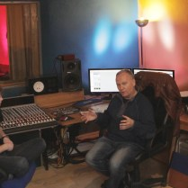 Record Producer Phil Harding at Strawhouse Studio