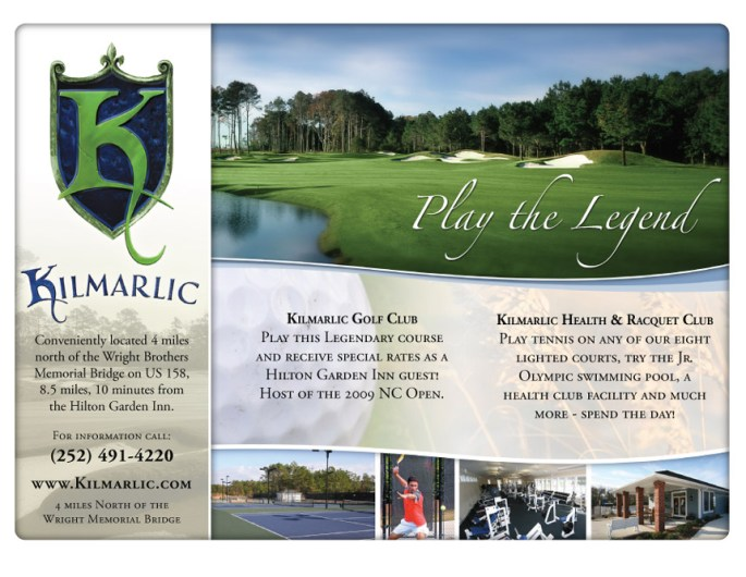 Kilmarlic Club Ad