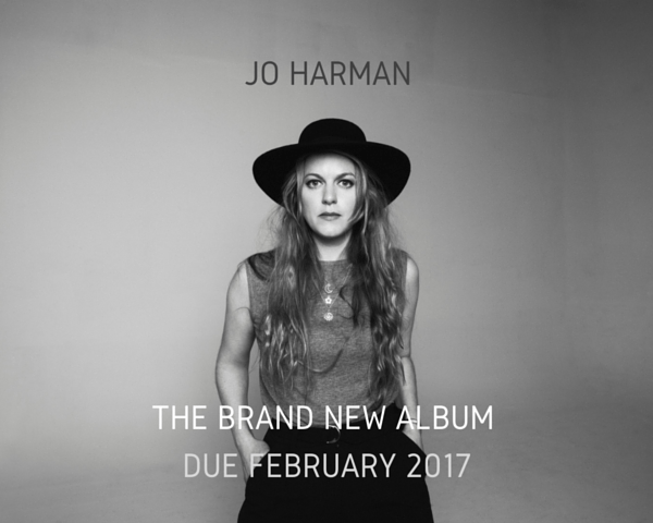 Jo Harman Album Release February 2017