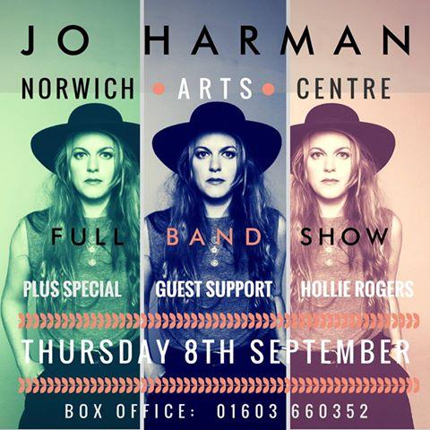Jo Harman Norwich Arts C