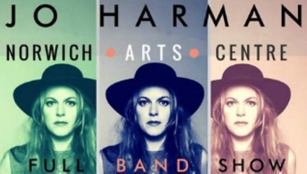 Jo Harman plays Norwich Arts Centre