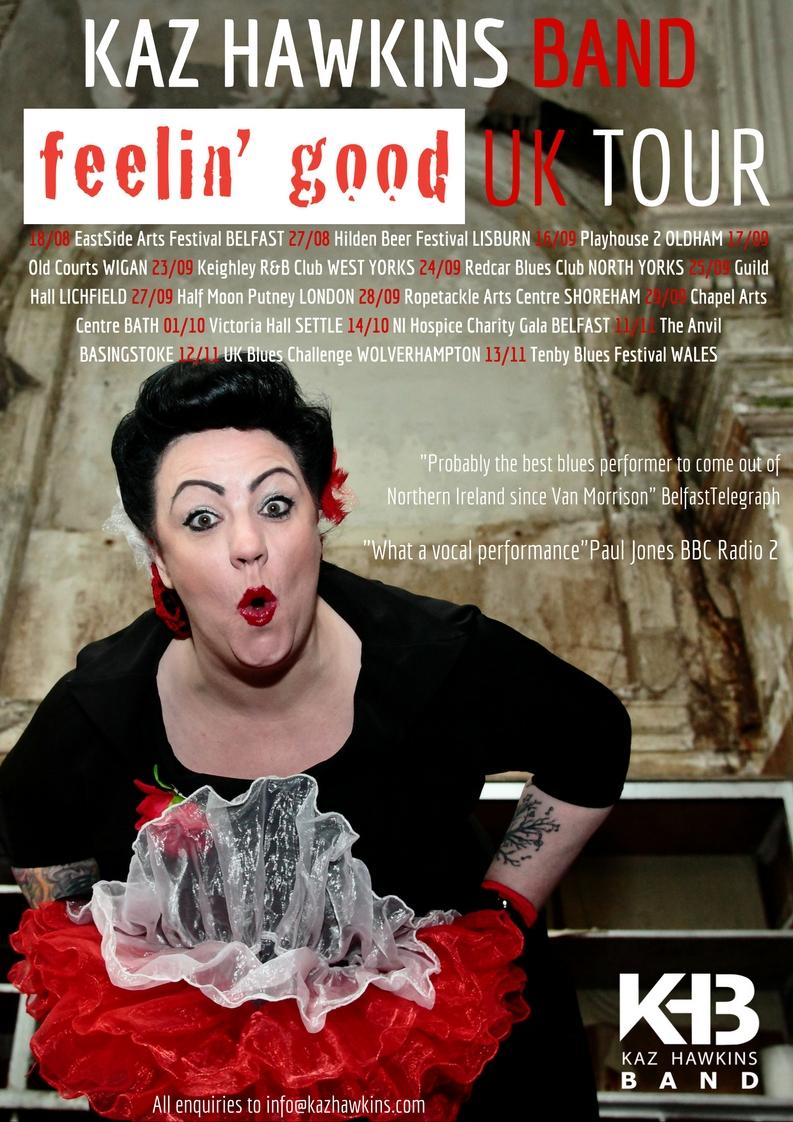 Kaz Autumn Tour  Poster