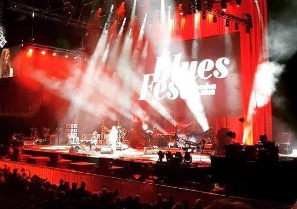 Jo Harman opens BluesFest, London.