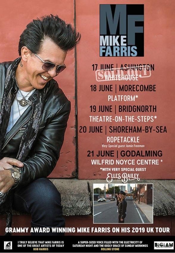 Mike Farris UK Tour 2019