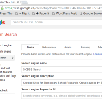 Create your own Google Search Engine