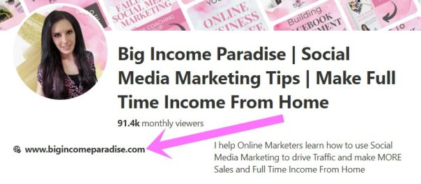 Big Income Paradise website certificated