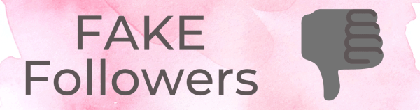 Fake Followers are not good for personal branding