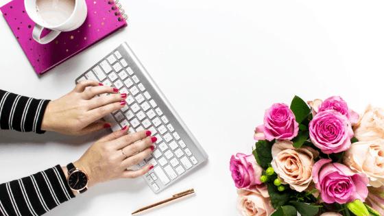 Social Media Branding Tip - Use the same colors in photos